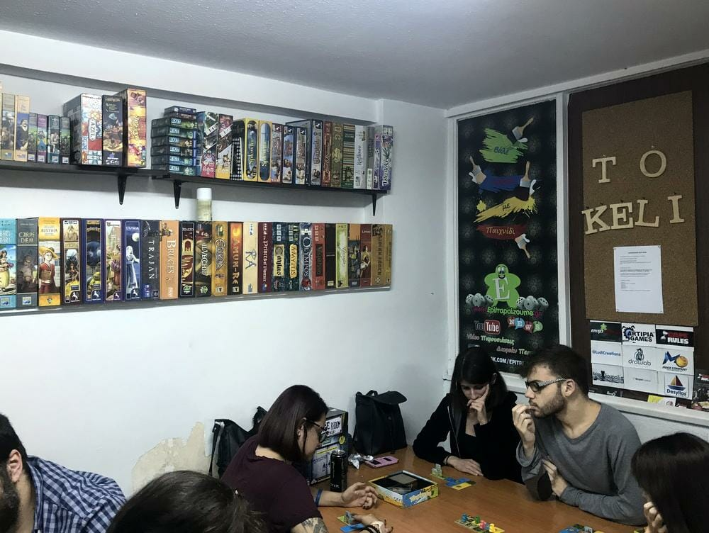 Where to game in: Athens, Greece